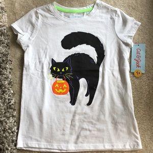 NWT Halloween Girls Tee